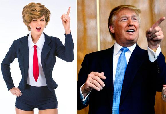 Este año triunfa el disfraz sexy 'Donald Trump'