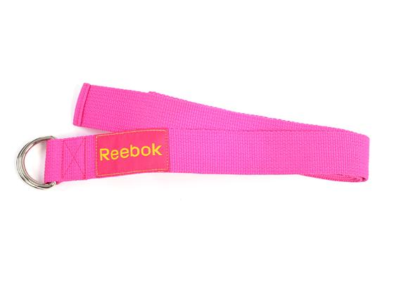 Yoga strap de Reebok. Perfecto para principiantes. Aquí puedes comprarlo
