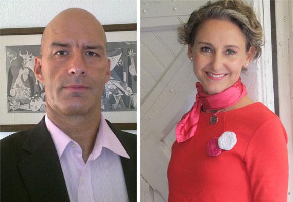 Abel Amón y Carla Royo-Villanova, dos influencers del equipo de The Luxonomist