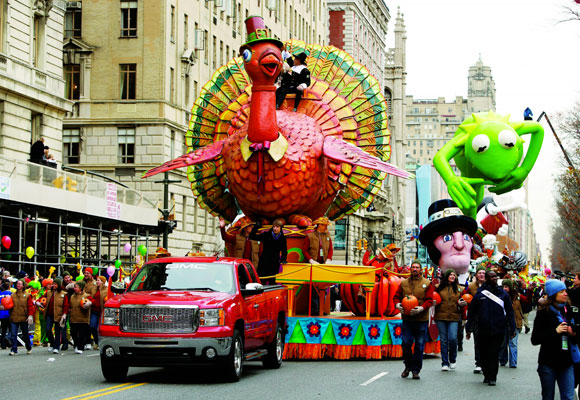 El Día de Acción de Gracias es todo un acontecimiento en Estados Unidos con impresionantes desfiles como el de Nueva York