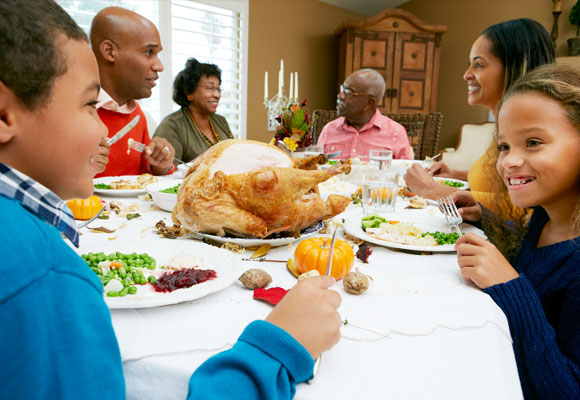 Los rituales como Thanksgiving son especialmente beneficiosos para los niños