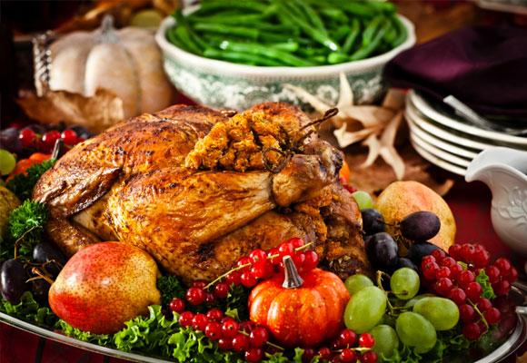 Hay manjares típicos de Thanksgiving day como el pavo o las verduras de otoño