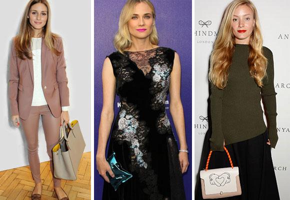 Olivia Palermo, Diane Kruger o Kate Foley son muchas de las celebs que llevan sus bolsos