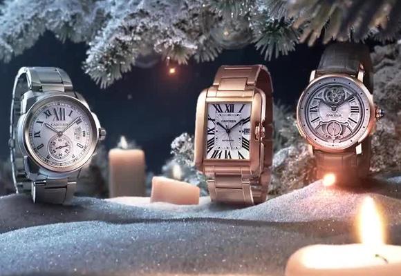 Campaña de Navidad de la firma de joyería Cartier