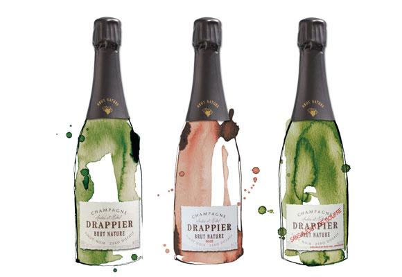 Champagne habituales