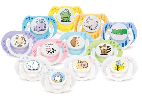 Los chupetes personalizados son un must de cualquier recién nacido