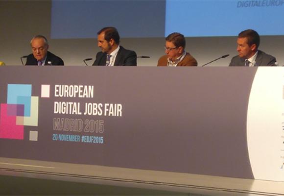 España ha acogido la I Feria Europea de Empleo Digital