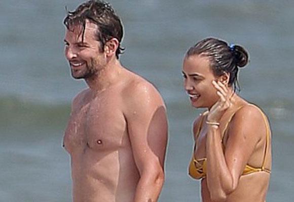 Irina mantiene una relación con el actor Bradley Cooper