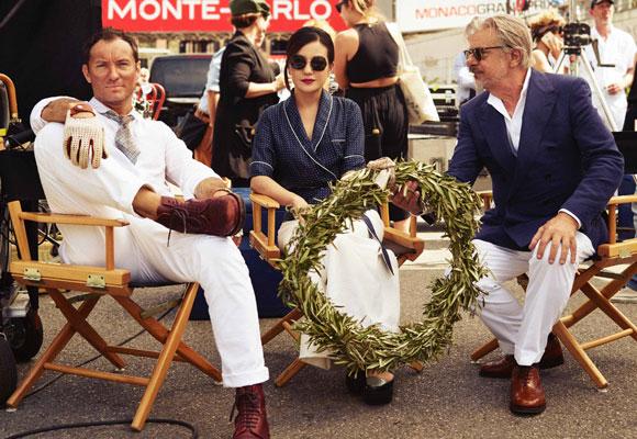 Los tres protagonistas del spot