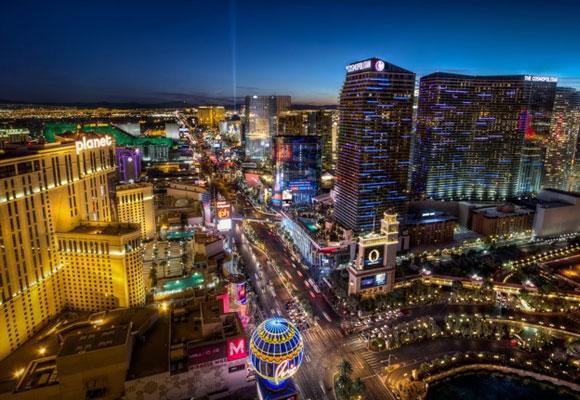 Bienvenidos al rutilante Strip de Las Vegas