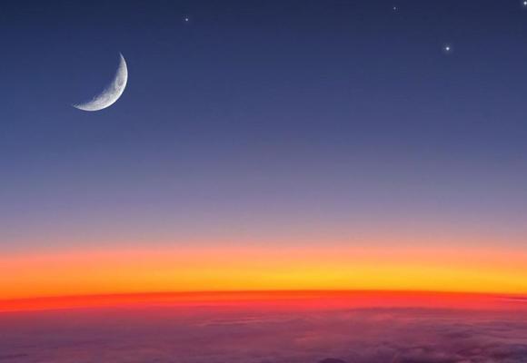 La luna también se deja sentir en las mareas