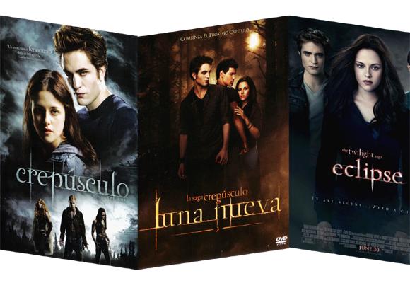 La luna, protagonista de la saga 'Crepúsculo'. Cómprala aquí en DVD
