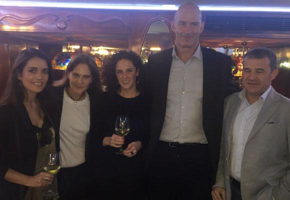 Nuria Hernández, Eugenia Melián, Elisa Ventoso, Abel Amón y Pablo Suanzes