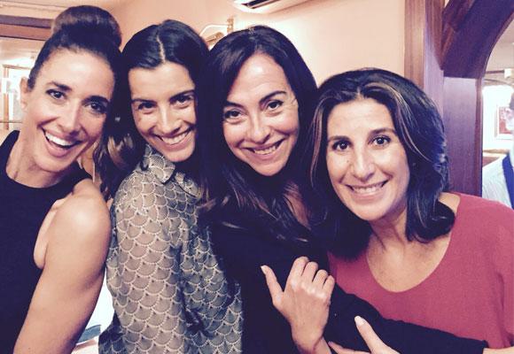 Vaya cuatro bellezas! Elsa Anka, Eugenia Marcos, Carme Barceló y Pilar García de la Granja