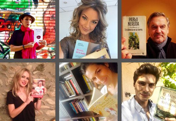 Los vips donaron libros