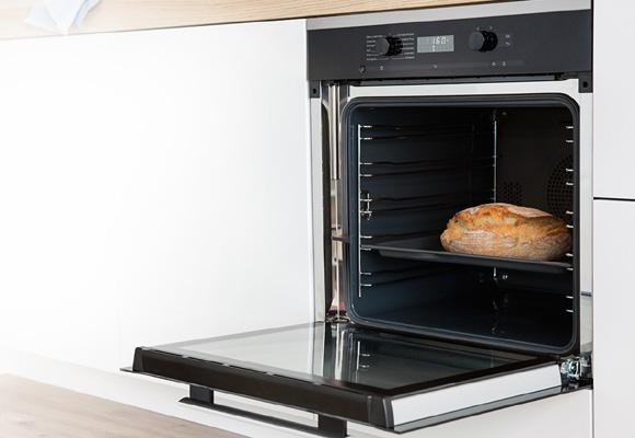 Este horno es perfecto para repostería y hornear pan