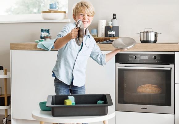 El sistema de limpieza, otra gran ventaja del nuevo horno Miele