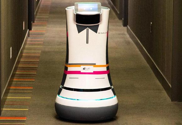 El robot mayordomo ya está en pruebas. ¡Hasta lleva pajarita!