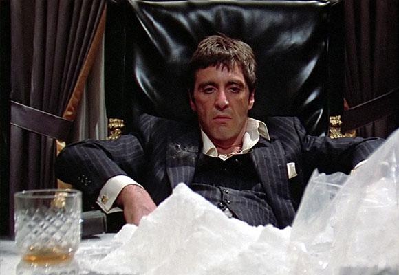 Al Pacino en la película Scarface