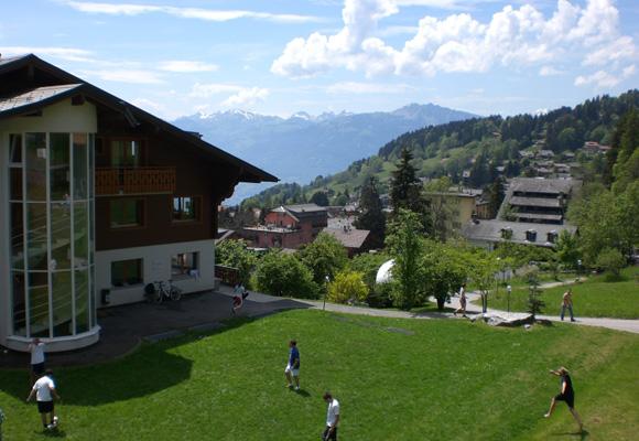 Estudiar en el Aiglon Collage cuesta unos 40.000 euros anuales