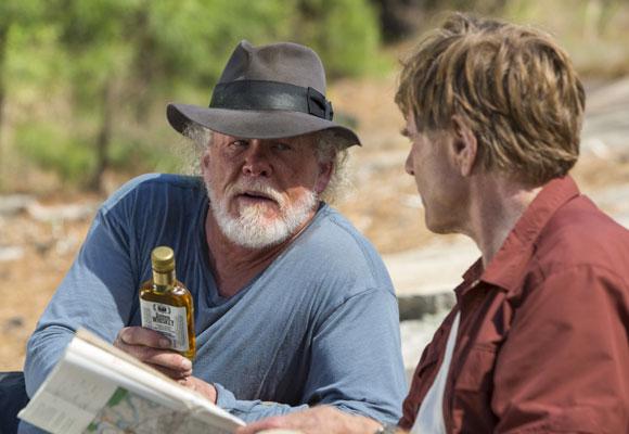 Nick Nolte acompaña a Redford en su aventura