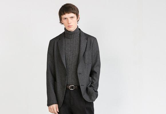 Americana gris Zara Studio Man. Aquí puedes comprarla