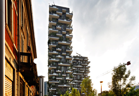 El Bosco Vertical se encuentra ubicado en la ciudad italiana de Milán