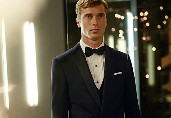 Aquí puedes hacerte con uno de los trajes más elegantes de Boss