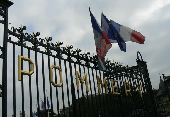 Maison Vranken Pommery donde se crean sus mejores champagnes