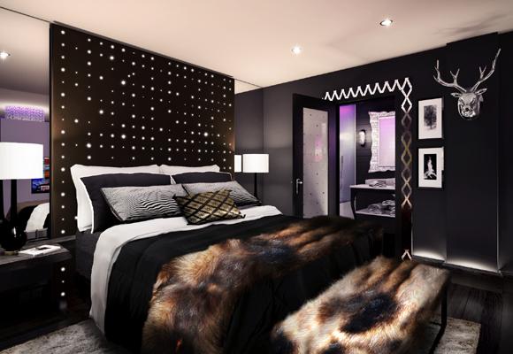 La luz es una de las claves en la decoración de un hotel de lujo