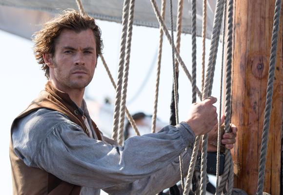 Chris Hemsworth protagoniza esta cinta de aventuras en el mar