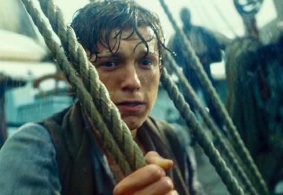Tom Holland da vida al oficial de Essex en 'El corazón del mar'