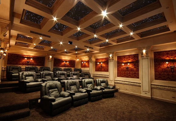 Star Ceiling In Home Cinema Room The Luxonomist