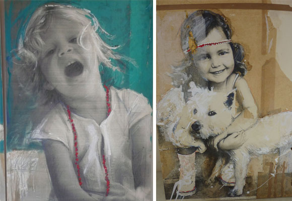 Retratos a partir de 500 euros, Teresa Calderón
