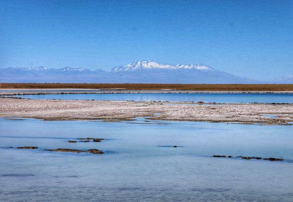 Impresionante vista de la Laguna Céjar
