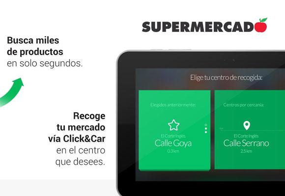 El servicio se une al de Click&Car ya disponible en los centros El Corte Inglés