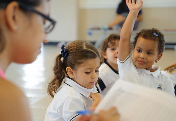 La mayoría de colegios británicos tienen enseñanza de 3 a 18 años