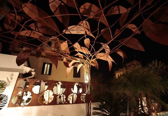 Exposicion de Fernando Oriol en una casa galeria de la calle Tajo 11. Fotos: Jose Galiana