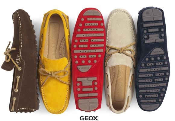 Un clásico: el mocasín de colores de Geox. Cómpralos aquí