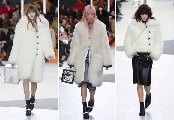 Corto o largo, el abrigo blanco