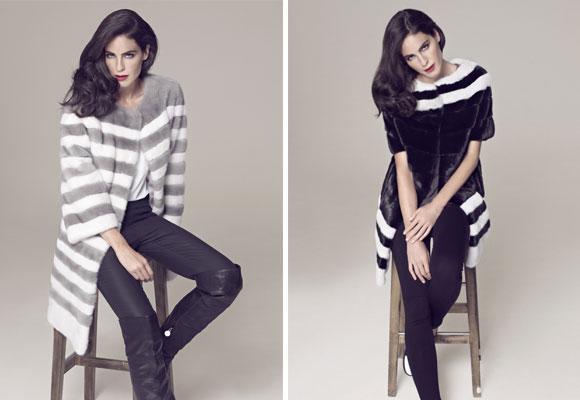 La combinación del blanco con tonos como el gris o el negro también está de moda