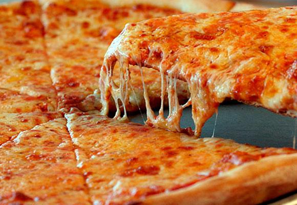 Pizza en