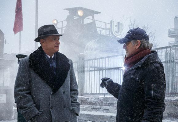 Tom Hanks junto a Steven Spelberg