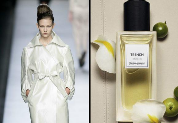 Las notas de cítricos se inspiran en la lluvia para el perfume Trench de YSL