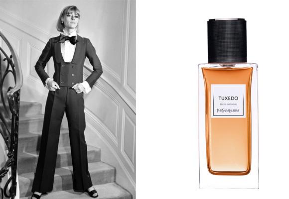 Una prenda y un perfume para un mismo nombre: Tuxedo