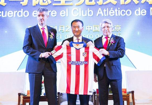 El Grupo Wanda ha invertido en el Atlético de Madrid