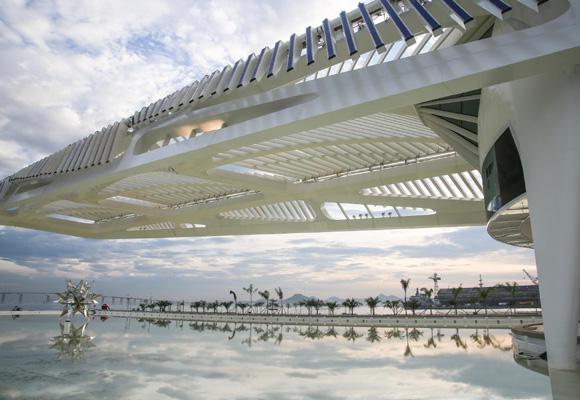 El Museo del Mañana ha sido ideado y creado por Calatrava en Brasil