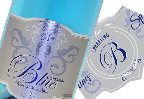 Blue, uno de los espumosos made in Sudáfrica. Cómpralo aquí