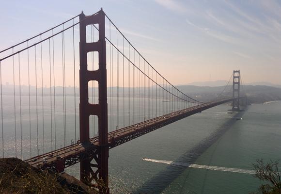El Golden Gate, una imagen que no puedes perderte en San Francisco