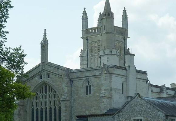 Capilla del exclusivo Winchester College